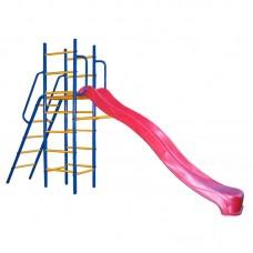 Уличный детский спортивный комплекс Kampfer Super Descent [красный]