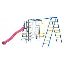 Уличный детский спортивный комплекс Kampfer Total Playground [красный]