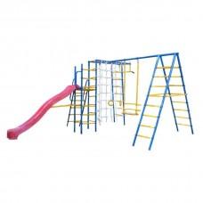 Уличный детский спортивный комплекс Kampfer Total Playground [желтый]