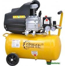 Воздушный компрессор SKIPER AR25A (до 220 л/мин, 8 атм, 25 л, 220 В, 1.50 кВт)