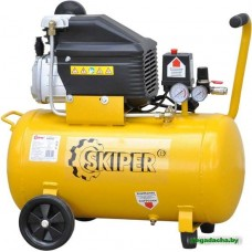 Воздушный компрессор SKIPER AR50B (до 260 л/мин, 8 атм, 50 л, 220 В, 1.80 кВт)