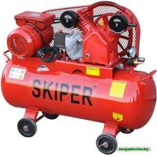 Воздушный компрессор SKIPER IBL2070А (до 300 л/мин, 8 атм, 70 л, 220 В, 2.2 кВт)