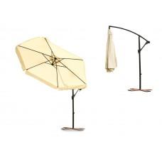 Зонт садовый Furnide 3m + защитный чехол, бежевый