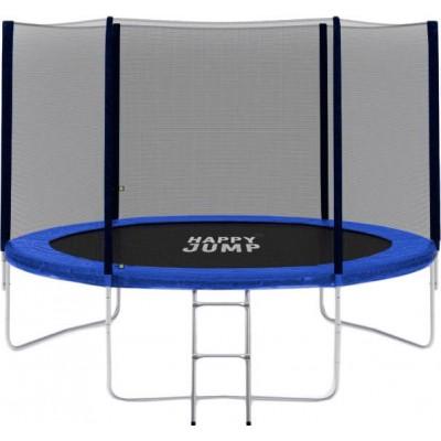 Батут Happy Jump 10ft PRO (312 см) с внешней сеткой и лестницей фото
