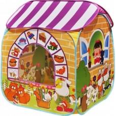 """CBH-32 Игровой домик """"Детский магазин"""" + 100 шариков CBH-32 жёлтый"""