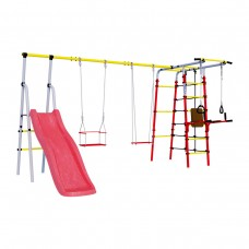 Детский спортивный комплекс для дачи ROMANA Богатырь Плюс