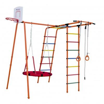 Игровой комплекс Формула здоровья Street 1 оранжевый радуга фото