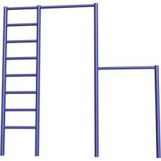 Лестница-турник 2-уровневый (усиленный) СпортОкей