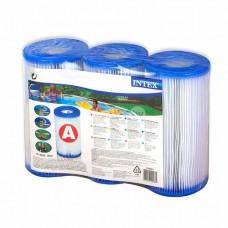 Набор картриджных фильтров 29003 Intex тип.А (3 шт.)