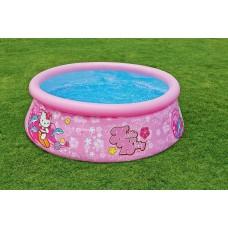 """Надувной бассейн Easy Set """"Hello Kitty"""" 183x51 см 28104NP Intex"""