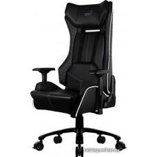 Офисное кресло Aerocool P7-GC1 AIR RGB черный с перфорацией                         RGB подсветка