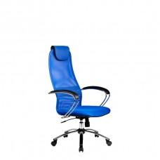 Офисное кресло BK-8CH 23 Синяя сетка