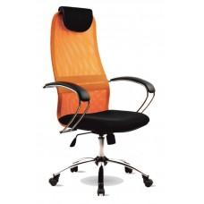 Офисное кресло BK-8CH Оранжевый Спинка-Оранжевый                        Сиденье-Черный