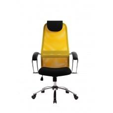 Офисное кресло BK-8CH Желтый Спинка-Желтый                     Сиденье-Черный