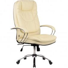 Офисное кресло LK-11CH 720 Бежевая кожа
