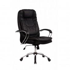 Офисное кресло LK-11CH 721 Черная кожа