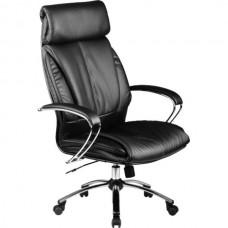 Офисное кресло LK-13CH 721 Черная кожа