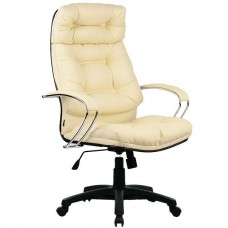 Офисное кресло LK-14 CH 720 Бежевая кожа