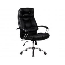 Офисное кресло LK-14 CH 721 Черная кожа