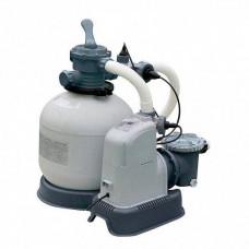 Песочный Фильтр-насос 28680 Intex с хлоргенератором, 10000 л/ч, хлорирование 11 гр/ч