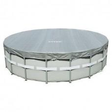 Тент-чехол для каркасного бассейна Ultra Frame 549см (выступ 20см) Intex 28041/57900