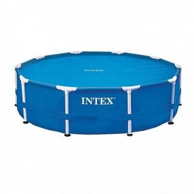 Тент-чехол с обогревающим эффектом 29021 Intex для бассейнов 305см