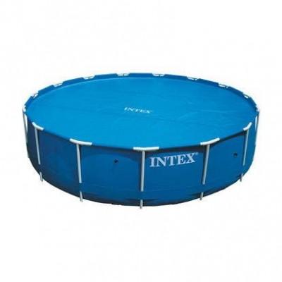 Тент-чехол с обогревающим эффектом 29023 Intex для бассейнов 457см