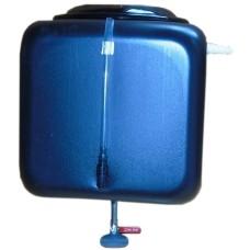 """Бак для душа """" Альтернатива""""  150 л с пластиковым  шаровым краном (уровень воды)"""