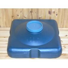 Бак для душа  на  150 литров с металлическим  шаровым  краном
