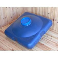 Бак для душа  на  150 литров с пластиковым шаровым  краном