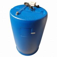 Бочка для душа 220л с электроподогревом и уровнем воды