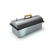 """Коптильня двухъярусная с гидрозатвором из нержавеющей стали с купольной крышкой """"Smoky Lux 75"""""""