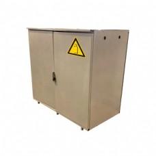 Шкаф на два газовых баллона по 27л., разборный, стальной