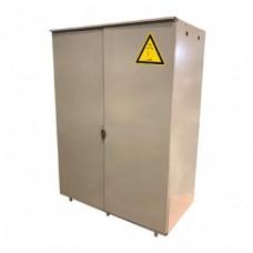 Шкаф на два газовых баллона по 50 л., разборный, стальной