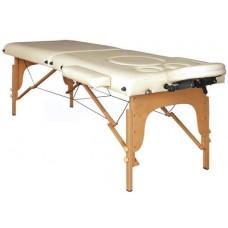 Массажный стол для беременных Atlas Sport 70 см складной 2-с деревянный (бежевый)