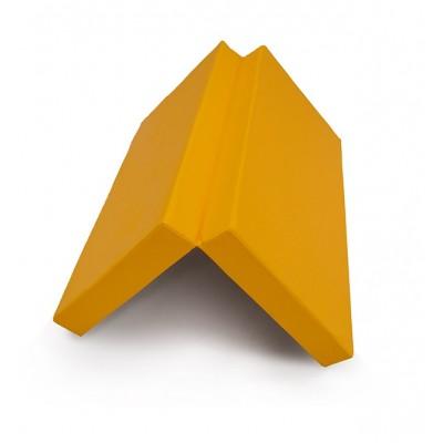 Мат № 10 (100 х 150 х 10) складной 1 сложение КМС жёлтый