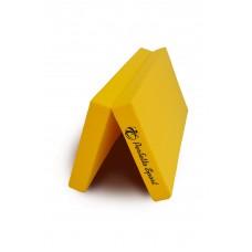 Мат № 10 (100 х 150 х 10) складной 1 сложение PERFETTO SPORT жёлтый