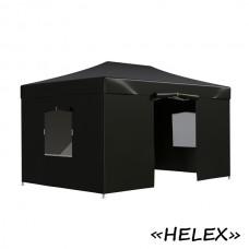 Тент садовый Helex 4342 3x4.5х3м полиэстер черный
